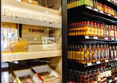 Liquor & Cigar Aisle