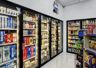 Cold Drinks Section