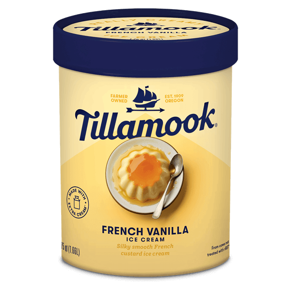 Tillamook Ice Cream, Gallon - French Vanilla