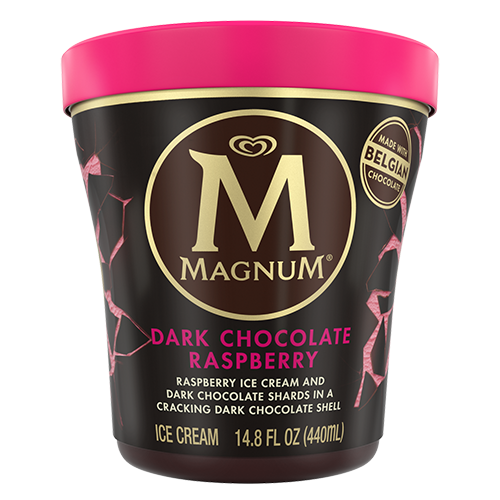 Magnum Ice Cream, 14.8 ounce - Dark Chocolate Raspberry