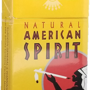 Natural American Spirit Cigarettes, Yellow