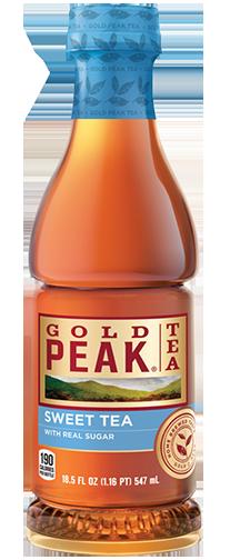 Gold Peak Tea, Sweet Tea, 18.5 ounce