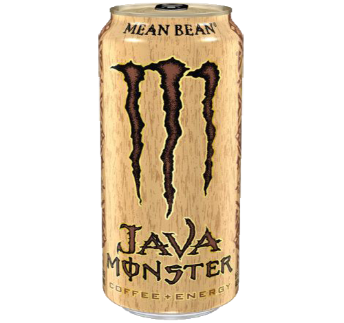Java Monster Energy Drink Can, Mean Bean