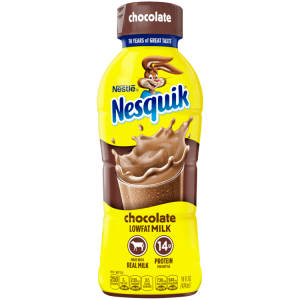 Nestle Nesquik Lowfat Milk, Chocolate