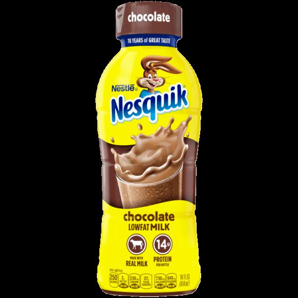 Nestle Nesquik Lowfat Milk, Chocolate