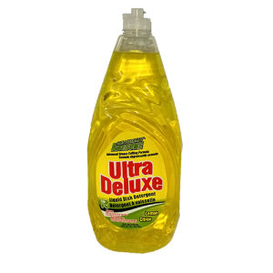 Ultra Deluxe Dish Liquid Detergent Lemon