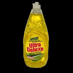 Ultra Deluxe Dish Liquid Detergent Lemon
