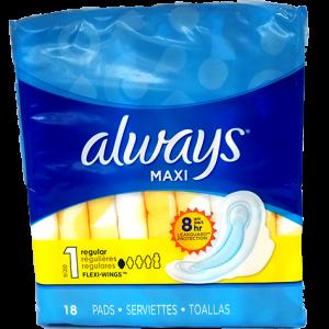 Always Maxi Feminine Pads
