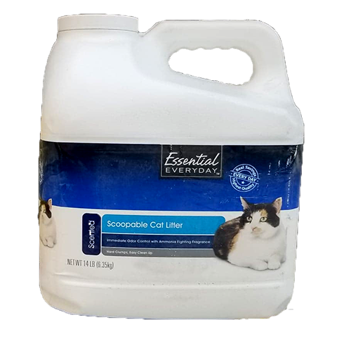 Essential Everyday Scoopable Cat Litter
