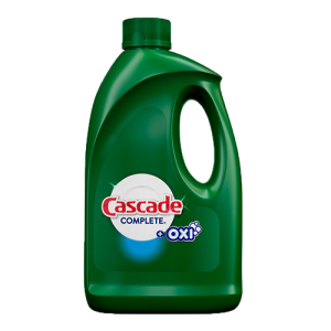 Cascade Complete Gel + Oxi Dishwasher Detergent