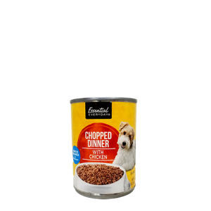Essential Dog Food Chopped Dinner with chicken
