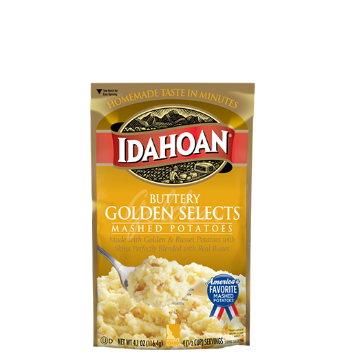 Idahoan Golden Selects Instant Mashed Potatoes