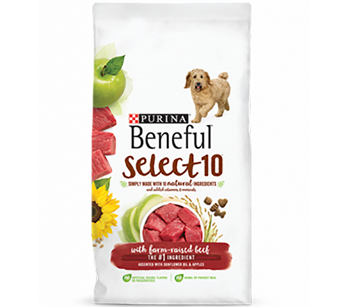 Purina Beneful Select 10 with Farm raised beef