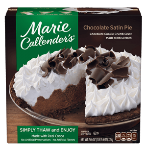 Marie Callender's Chocolate Satin Pie