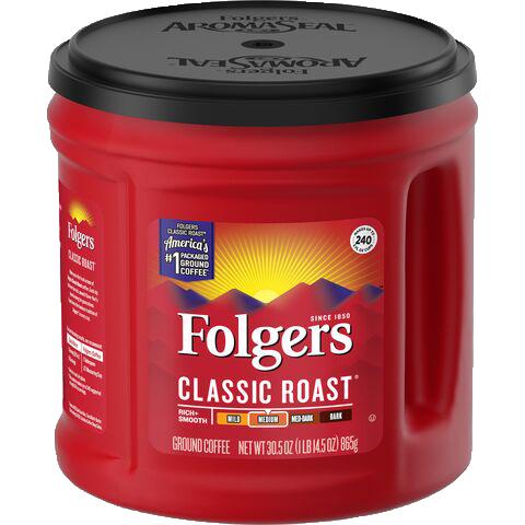 Folgers Classic Roast 1lbs