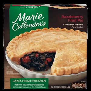 Marie Callnerder's Razzleberry Pie